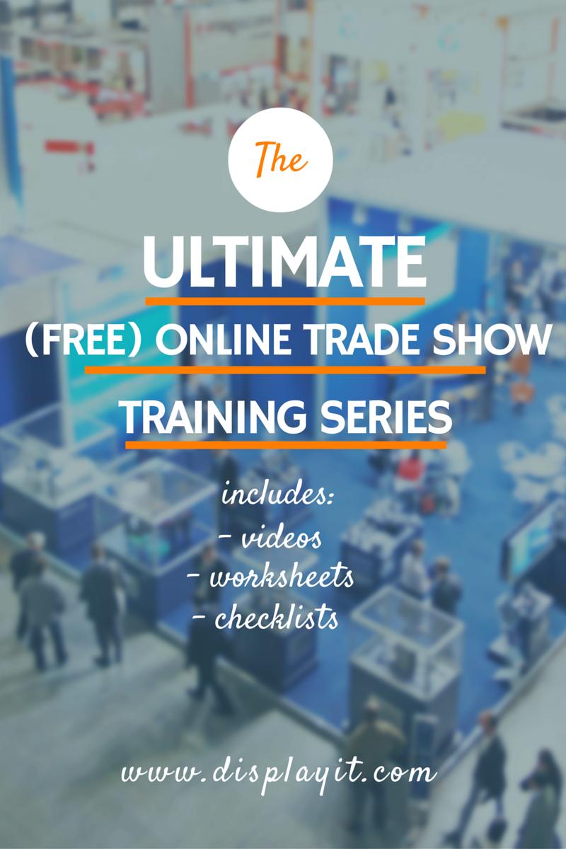 Free Trade Show U Training Series